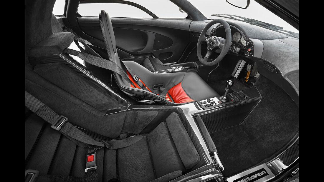 McLaren F1 - Sportwagen - Lenkrad - Innenraum