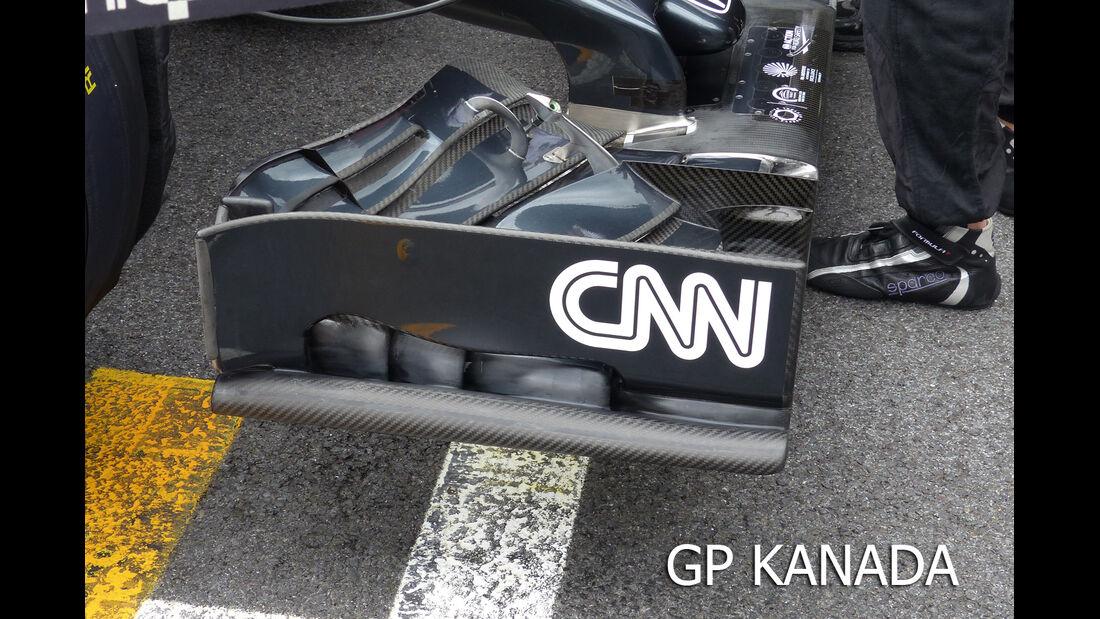 McLaren - F1 Technik - GP England 2015