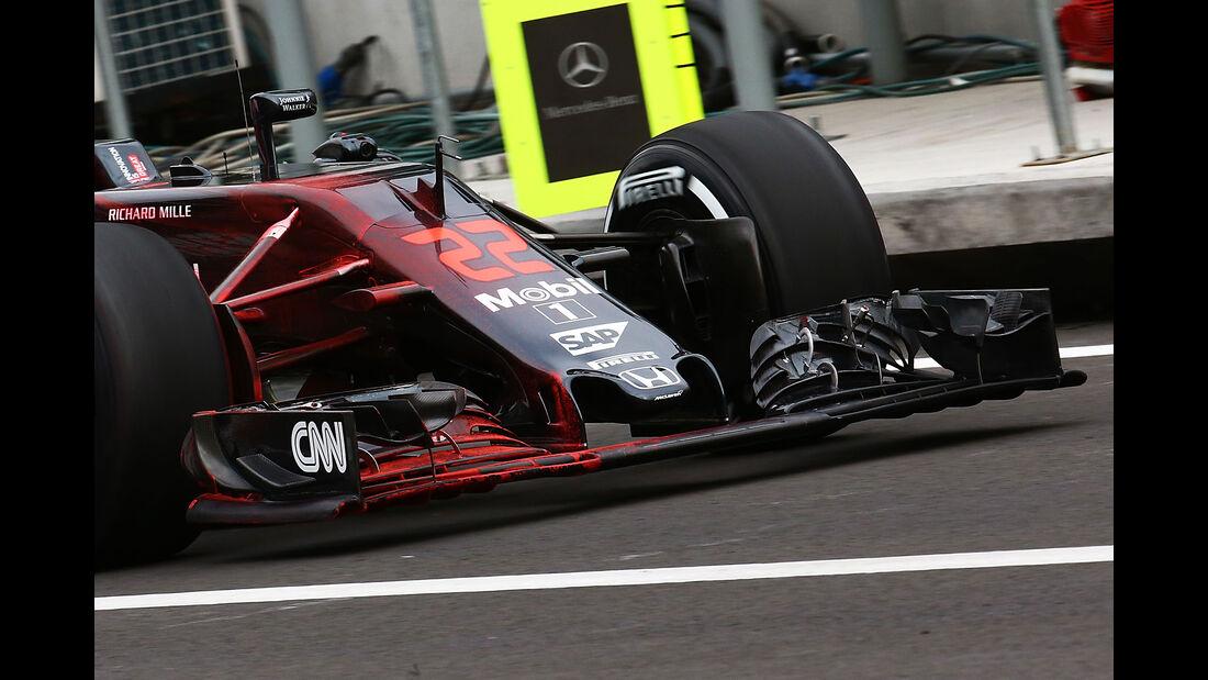 McLaren - F1 Technik - GP Mexiko 2016