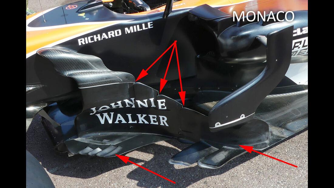 McLaren - F1-Technik - GP Monaco 2017