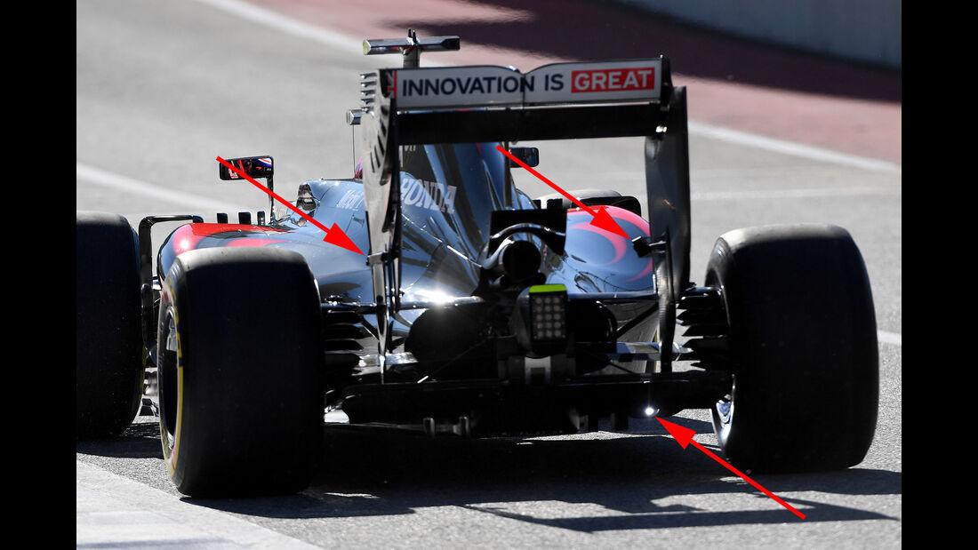 McLaren - F1 Technik - GP USA 2016