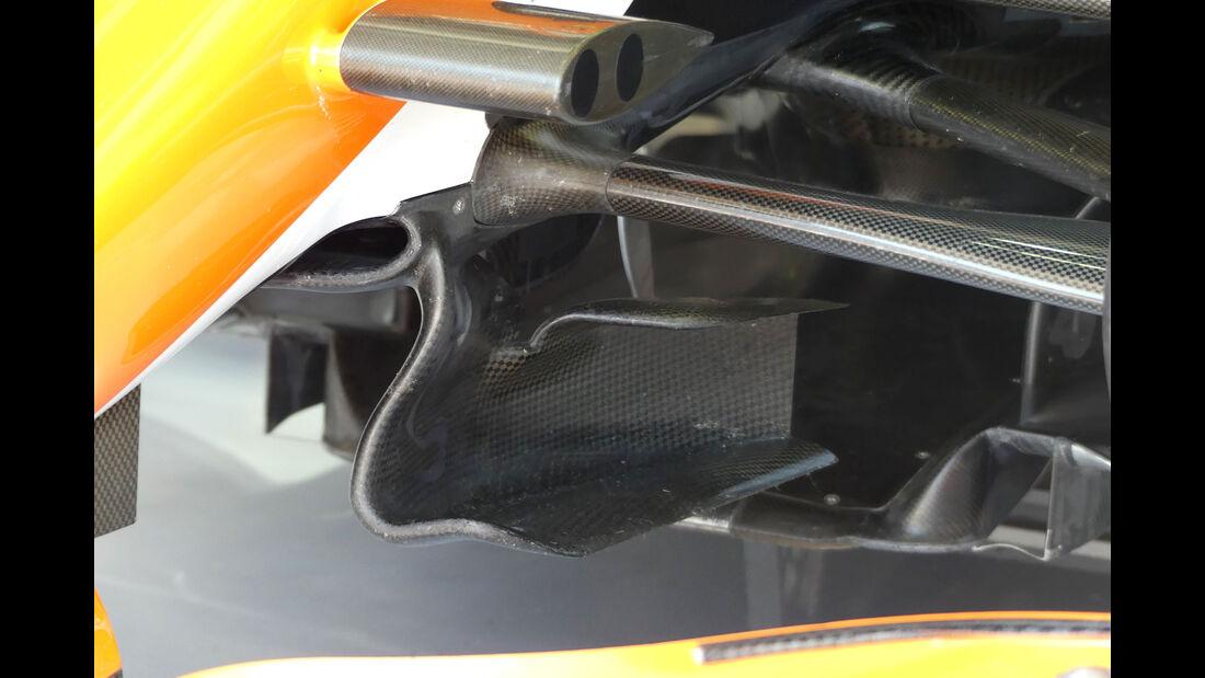 McLaren - F1-Technik - GP Ungarn 2017 - Formel 1