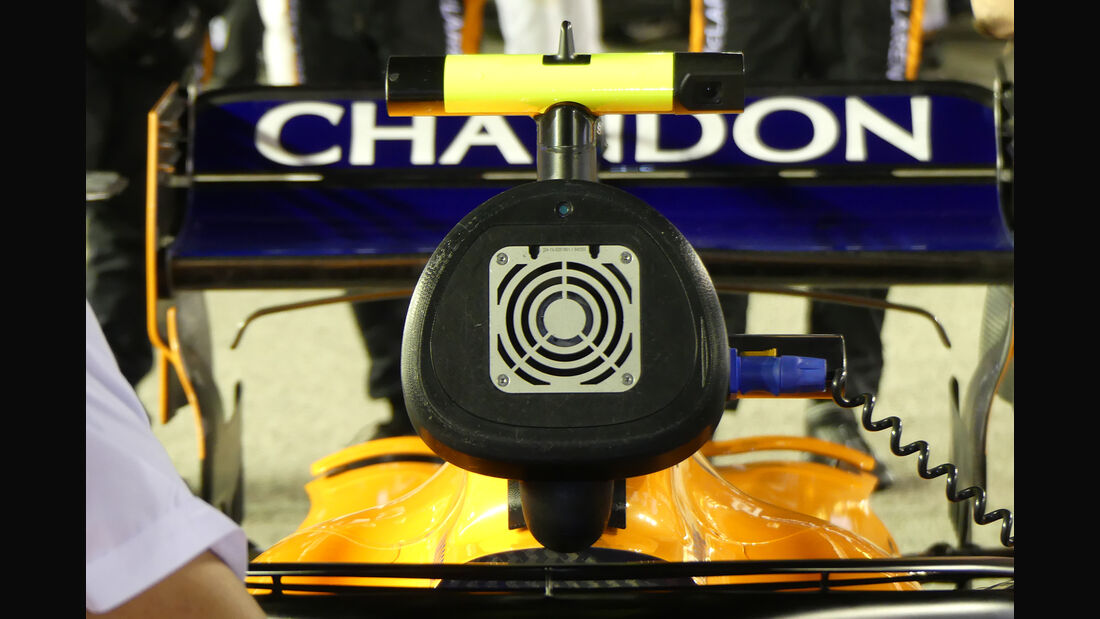 McLaren - F1-Technik - Lüfter - GP Singapur 2018