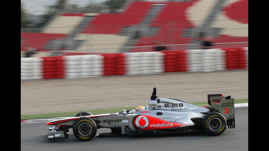 McLaren F1 Test 2011