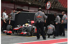 McLaren F1-Test 2011