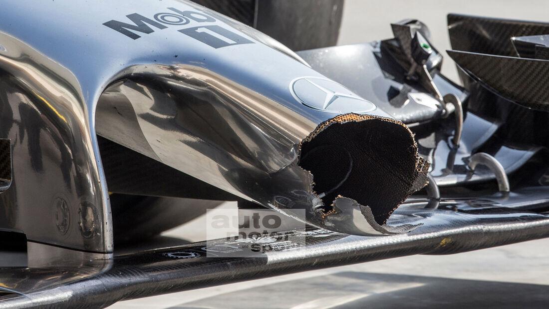 McLaren - F1-Test Bahrain 2014