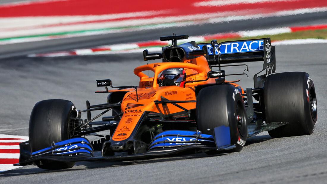 McLaren - F1-Test - Barcelona - 2020