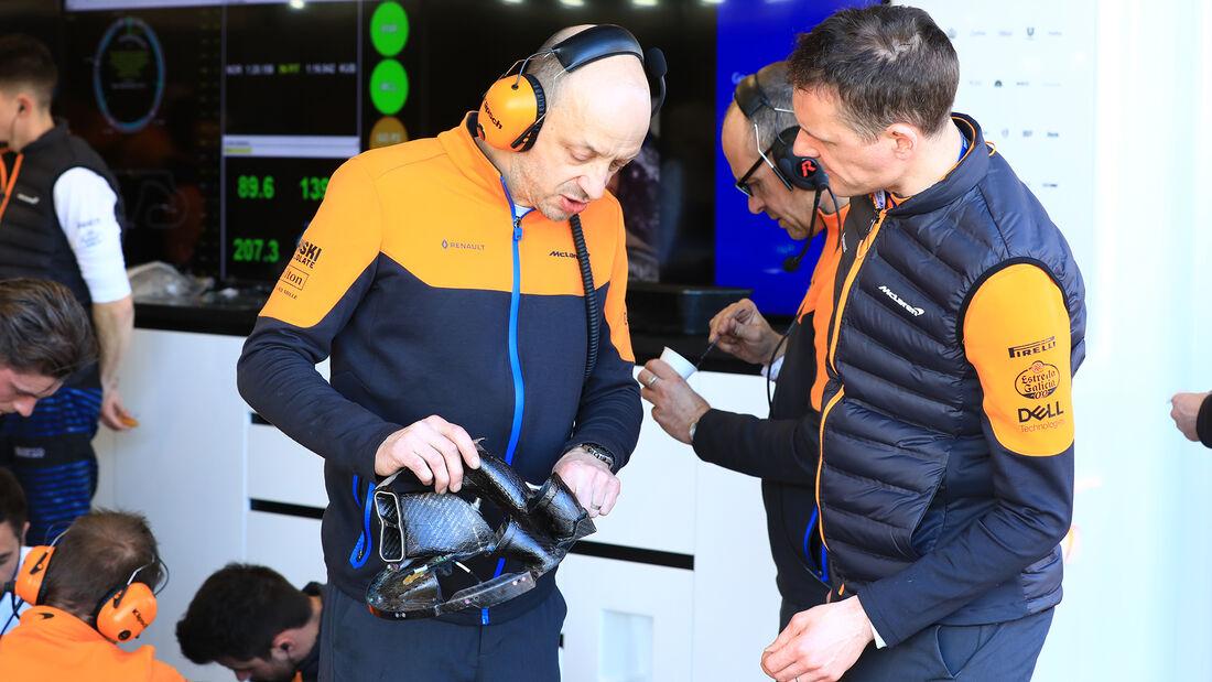 McLaren - F1-Test - Barcelona - 26. Februar 2020