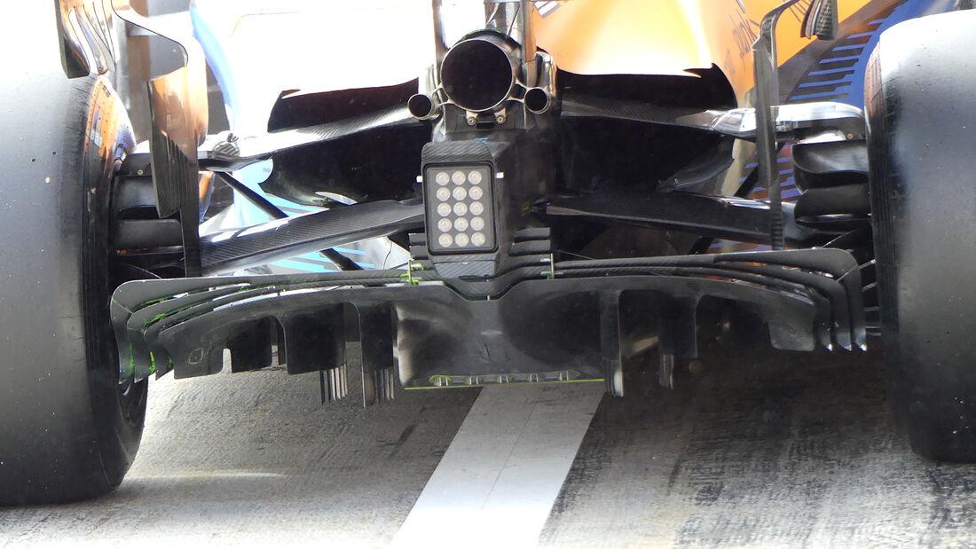 McLaren - F1-Test - Barcelona - 28. Februar 2020