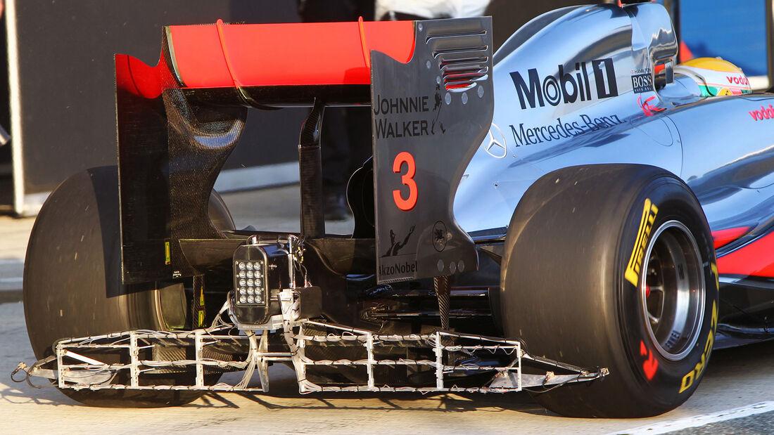 McLaren - F1-Test Jerez 2011