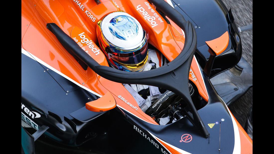 McLaren - F1-Testfahrten - Abu Dhabi - 2017