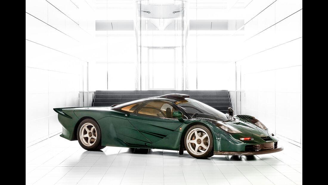 McLaren F1 XP GT in XP Green (1997)