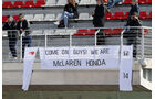 McLaren-Fans - Formel 1-Test - Barcelona - 25. Februar 2016