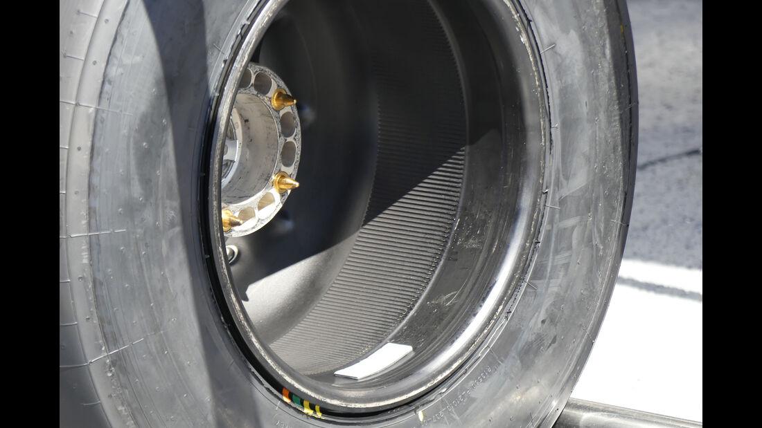 McLaren - Felgen - Formel 1 - 2016