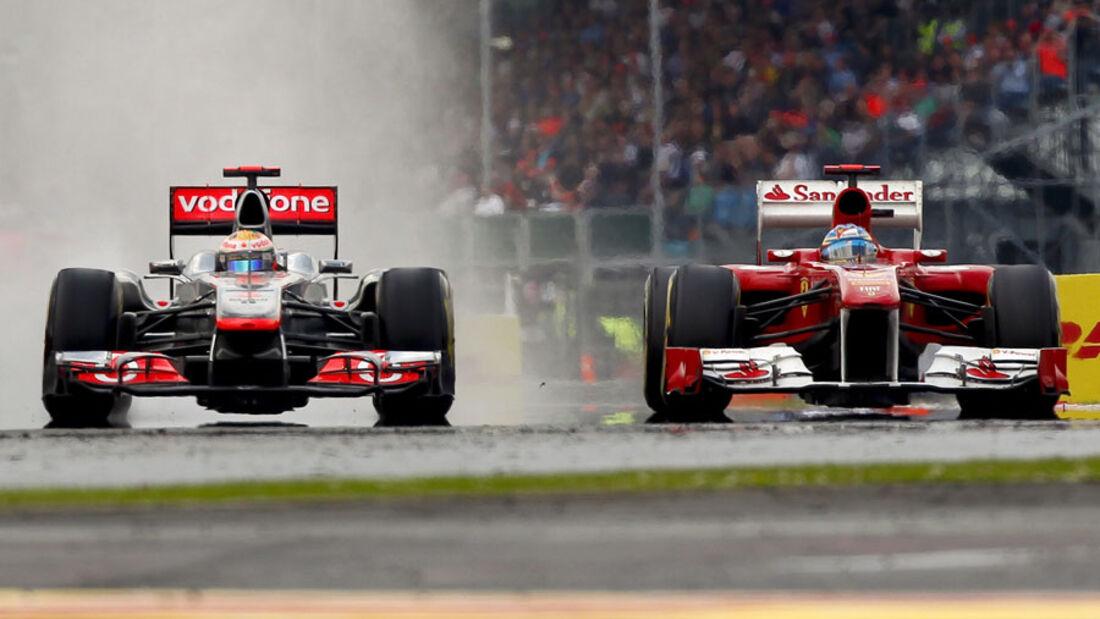 McLaren Ferrari GP England 2011