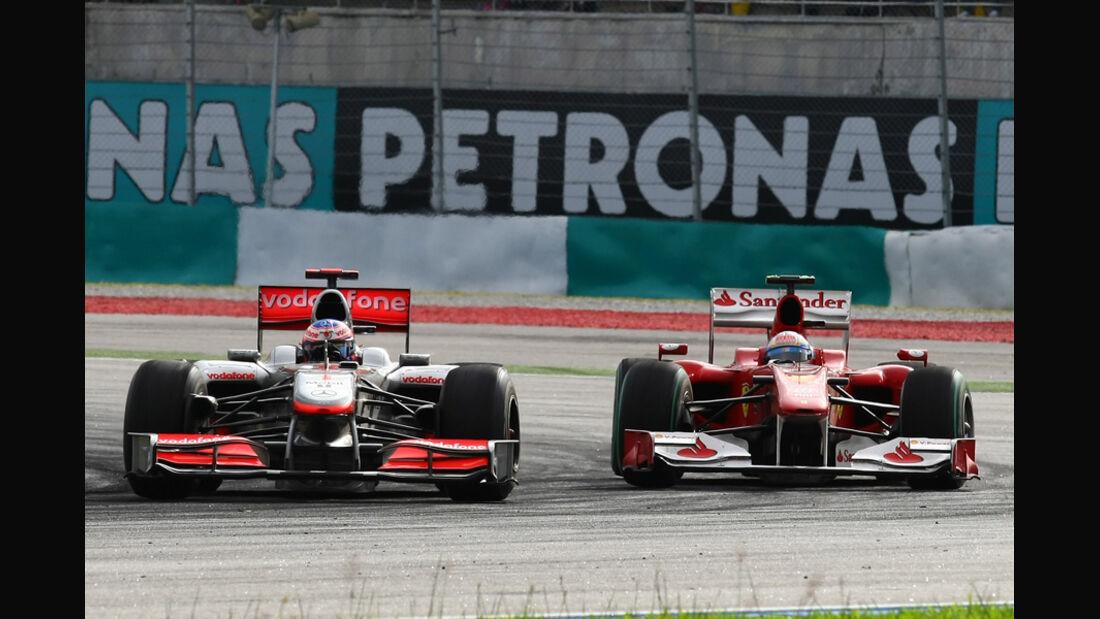 McLaren & Ferrari