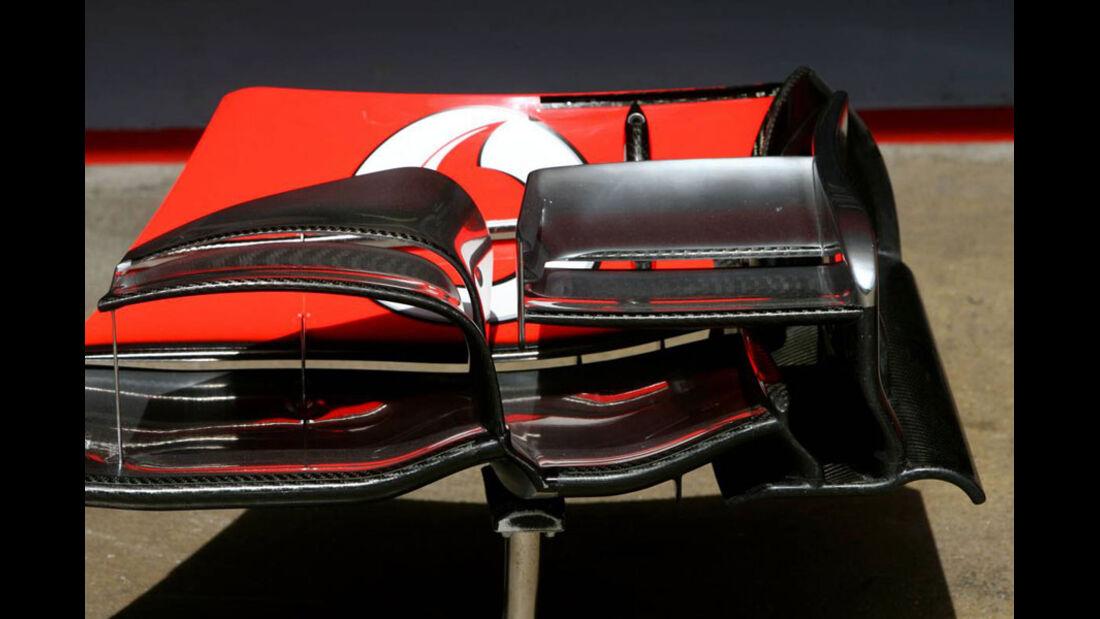 McLaren-Flügel