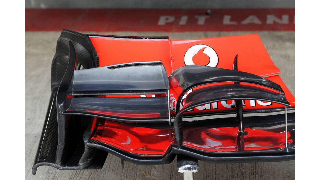McLaren Flügel - Formel 1 - GP Indien - 26. Oktober 2012