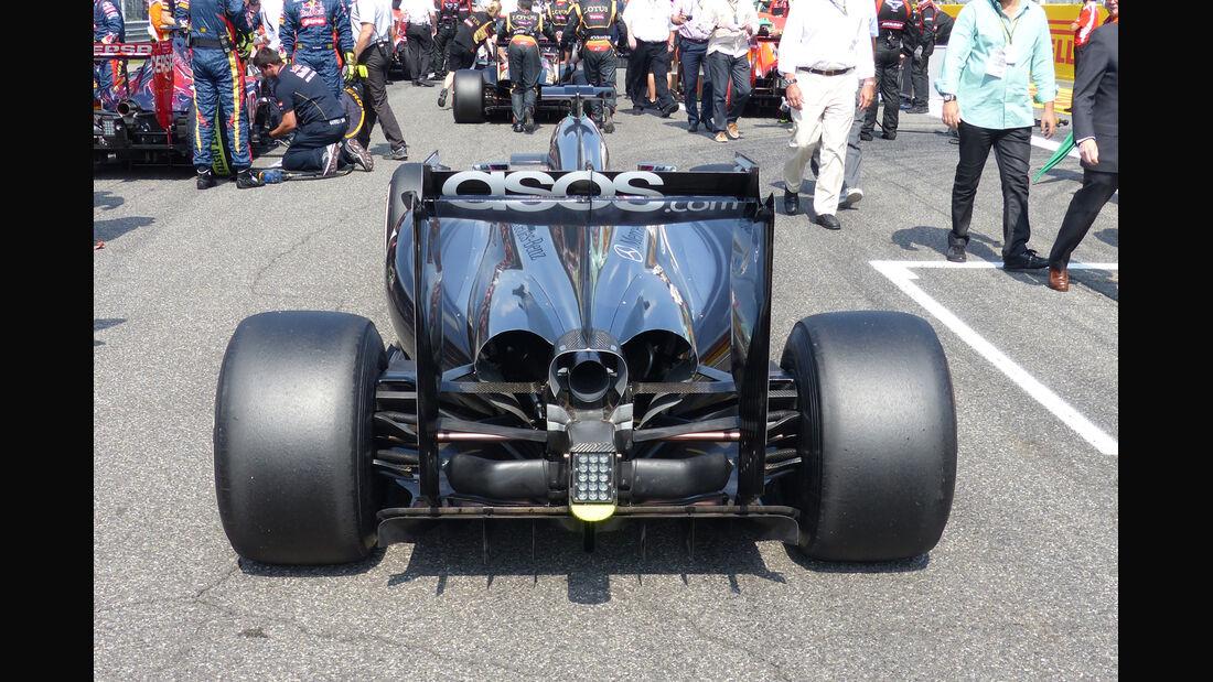 McLaren - Formcheck - GP Italien 2014