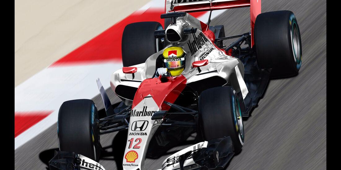 McLaren - Formel 1 2017 - Designs - Sean Bull