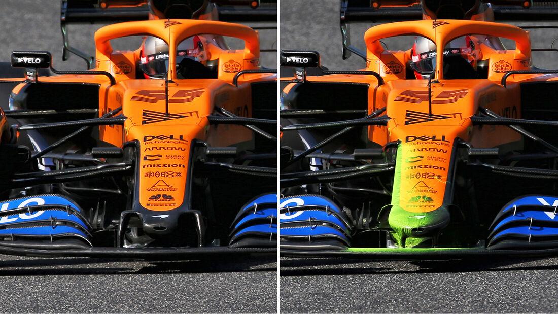 McLaren - Formel 1 - 2020 - Technik-Trends