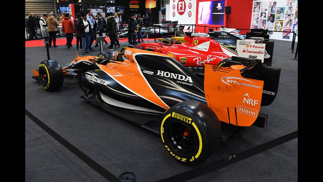 McLaren - Formel 1 - Autosport International - Birmingham - 2018