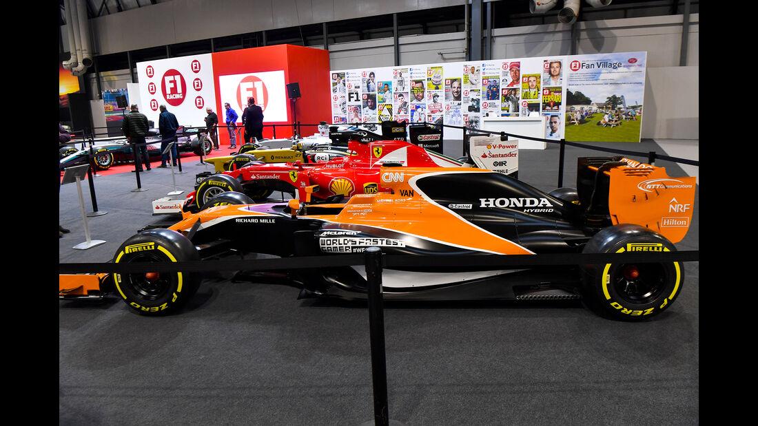 McLaren - Formel 1 -Autosport International - Birmingham - 2018