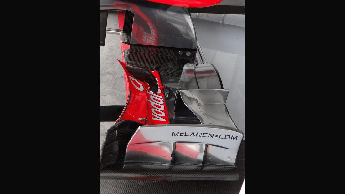 McLaren - Formel 1 - Budapest - GP Ungarn - 26. Juli 2012
