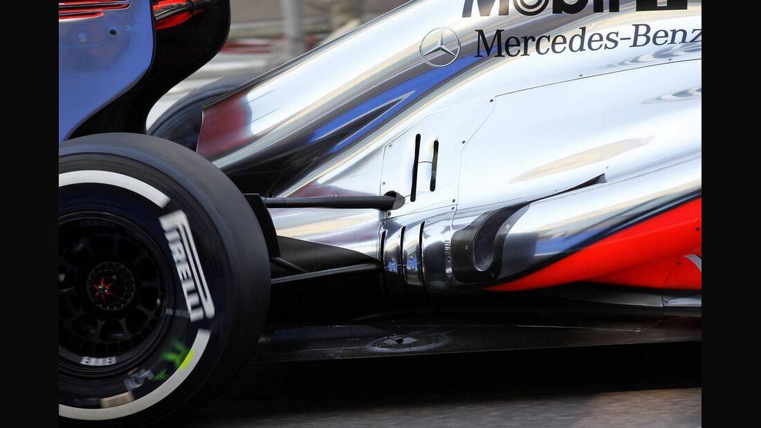 McLaren - Formel 1 - GP Abu Dhabi - 01. November 2012