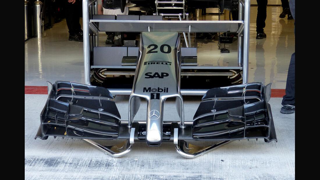 McLaren - Formel 1 - GP Abu Dhabi - 21. November 2014