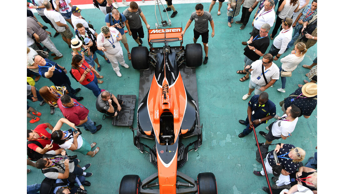 McLaren - Formel 1 - GP Abu Dhabi - 23. November 2017