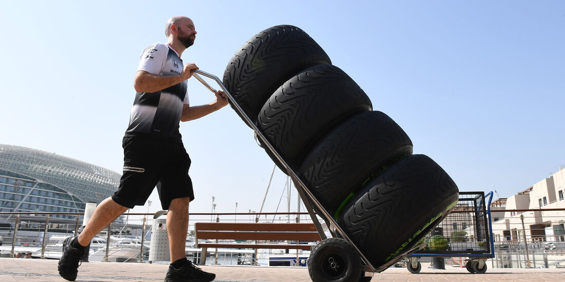 McLaren - Formel 1 - GP Abu Dhabi - 24. November 2016