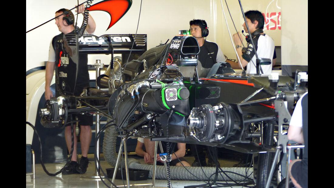 McLaren - Formel 1 - GP Abu Dhabi - 26. November 2015