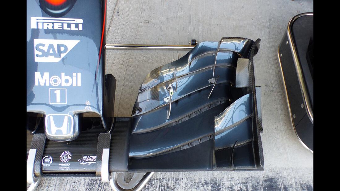 McLaren - Formel 1 - GP Abu Dhabi - 27. November 2015