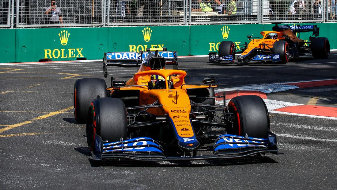 McLaren - Formel 1 - GP Aserbaidschan 2021