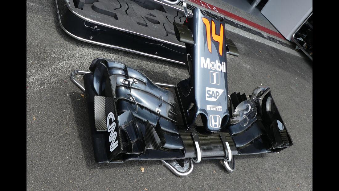 McLaren - Formel 1 - GP Aserbaidschan - Baku - 17. Juni 2016
