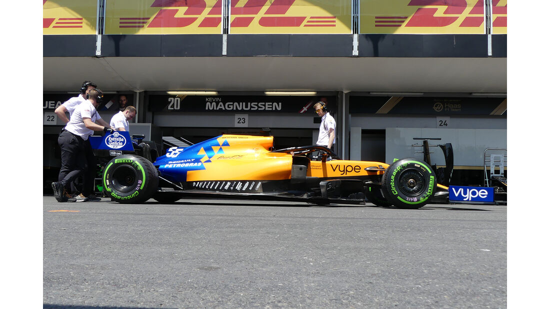 McLaren - Formel 1 - GP Aserbaidschan - Baku - 26. April 2019