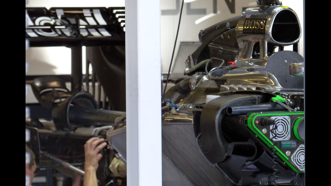McLaren - Formel 1 - GP Australien - 13. März 2014