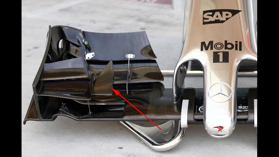 McLaren - Formel 1 - GP Australien 2014 - Technik