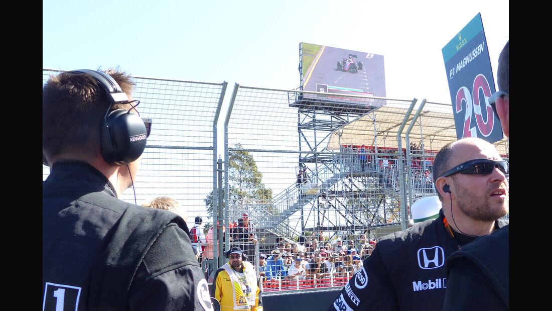 McLaren - Formel 1 - GP Australien 2015