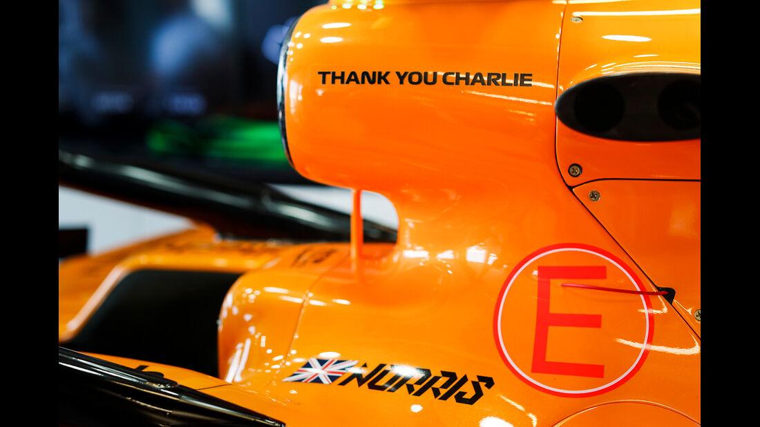 McLaren - Formel 1 - GP Australien 2019