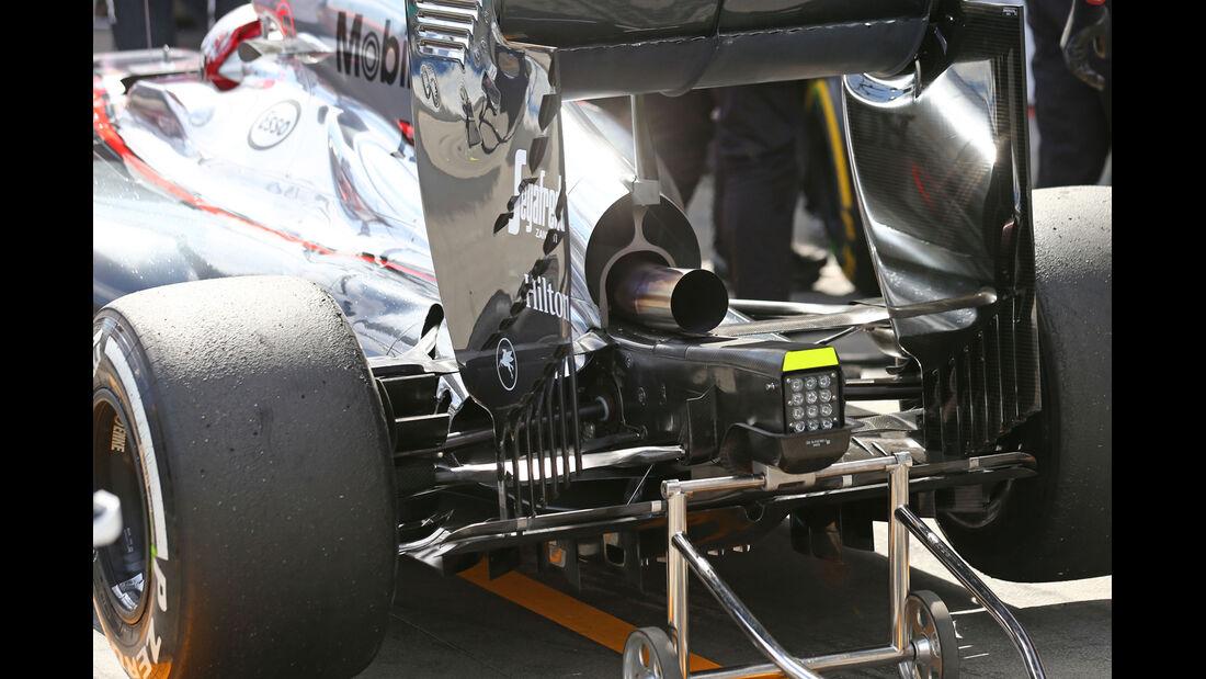 McLaren - Formel 1 - GP Australien - Melbourne - 14. März 2015