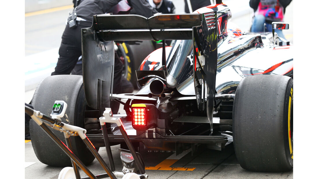 McLaren - Formel 1 - GP Australien - Melbourne - 18. März 2016