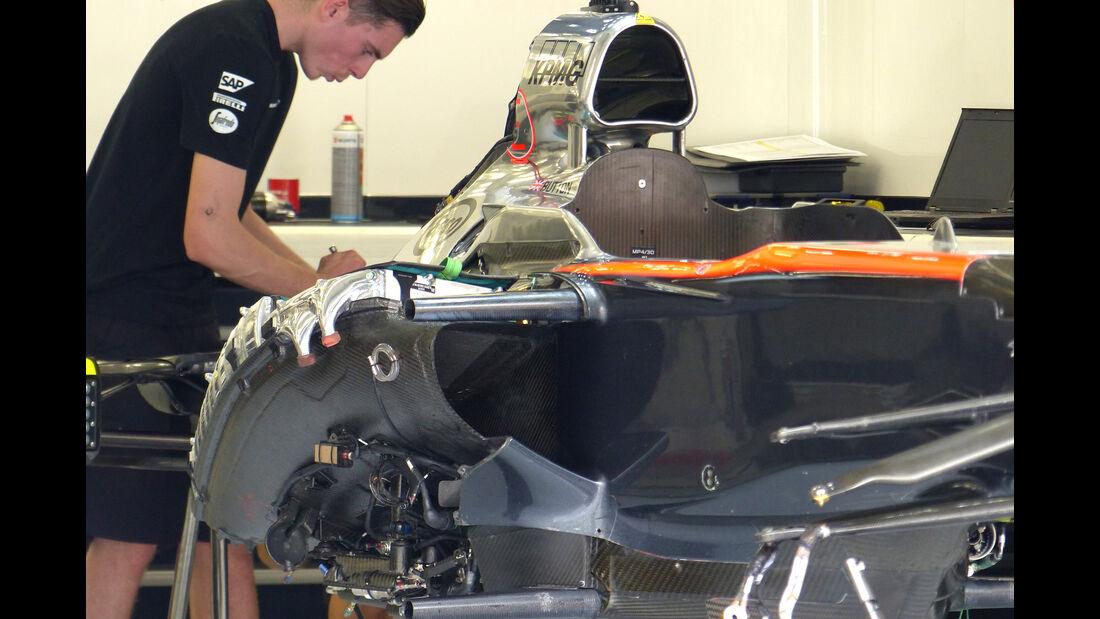 McLaren - Formel 1 - GP Bahrain - 15. April 2015