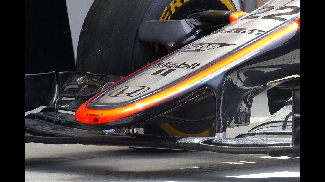 McLaren - Formel 1 - GP Bahrain - 17. April 2015