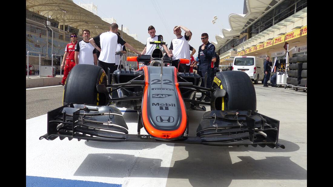 McLaren - Formel 1 - GP Bahrain - 18. April 2015