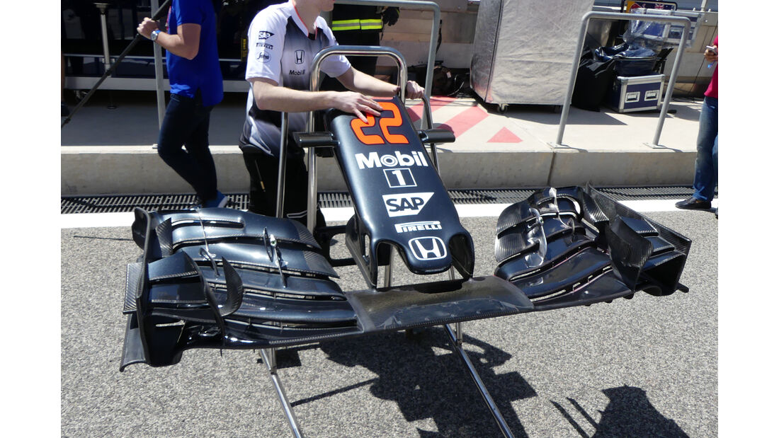 McLaren - Formel 1 - GP Bahrain - 2. April 2016