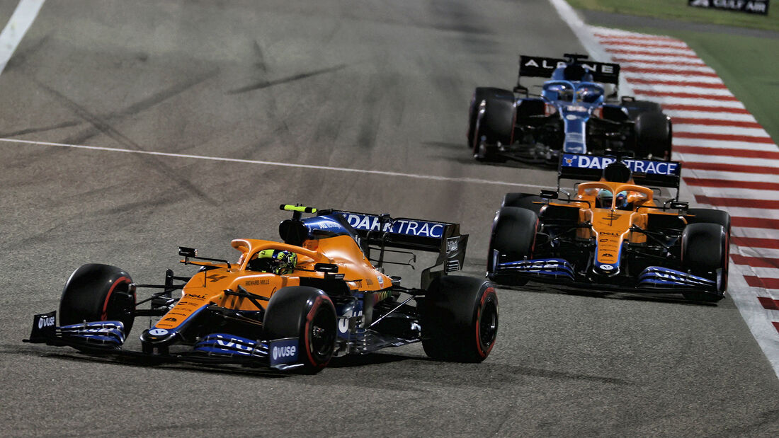 McLaren - Formel 1 - GP Bahrain 2021