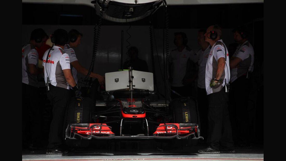 McLaren - Formel 1 - GP Bahrain - 21. April 2012