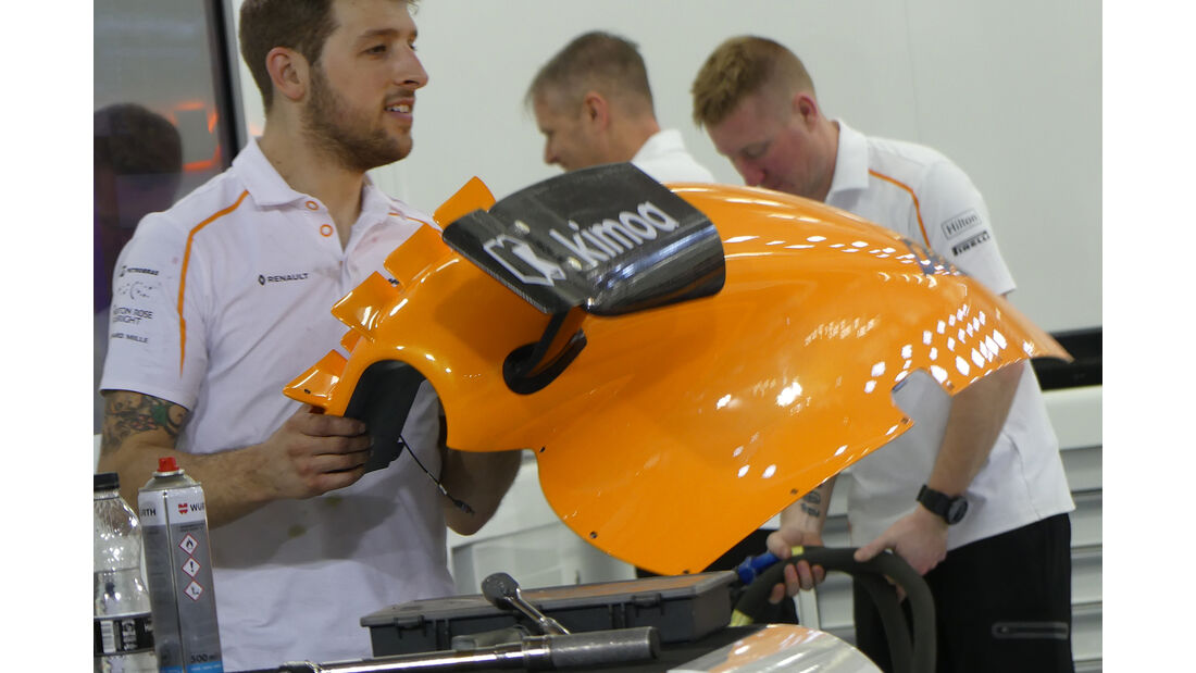 McLaren - Formel 1 - GP Bahrain - 5. April 2018